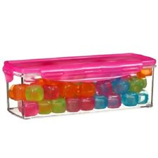 Reusable Ice Cubes 60pk, Best for Party, Camping, Summer, BBQ (Multi colour)