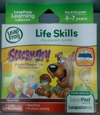 LeapFrog Scooby Doo Pirate Ghost LeapPad Tablets LeapsterGS Leapster Dmg Box E14