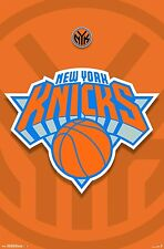 "Trends International New York Knicks Logo Wall Poster 22.375"" x 34"" Ships FREE"