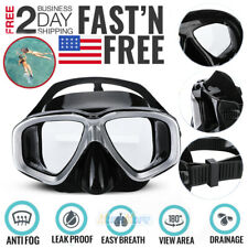 Anti-Fog Scuba Free Dive Diving Mask Tempered Glass Lens Snorkeling Gear 2020