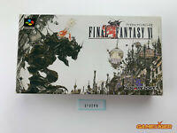 FINAL FANTASY VI 6 Nintendo Super Famicom SNES SFC JAPAN Ref:313280