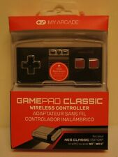 New! My Arcade GamePad Classic Wireless Controller for NES Classic / Wii / Wii U