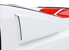 Fits 10-14 Mustang V6 GT 3dCarbon Urethane Quarter Window Scoops Type I 691628