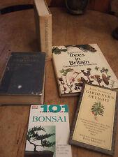 4 GARDENING BOOKS