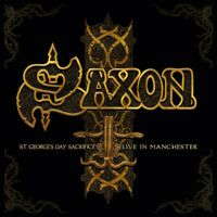 SAXON - ST.GEORGE'S DAY-LIVE IN MANCHESTER 2 CD NEW+