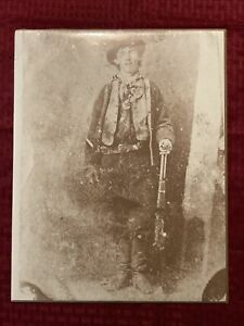Billy The Kid 11x14 Photo Old West Collectors Series