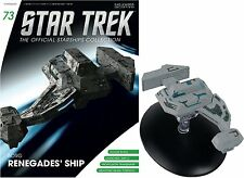 Star Trek The Official Starships Collection Borg Renegades' Ship #G10 - Free p&p