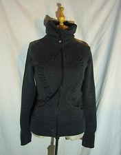 Lululemon Cuddle Up Sparkle Charcoal Gray Jacket Size 4 / 6
