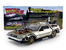 SUNSTAR - 1/18 - DE LOREAN DMC 12 - BACK TO THE FUTURE III - RAILROAD - 2714