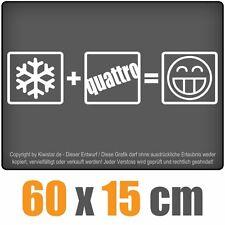 Winter Quattro  chf0226 weiß 60 x 15 cm Heckscheibenaufkleber