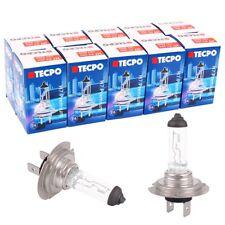 10x H7 Birnen TECPO Premium Halogen Auto-Lampe 12V 55w Glühbirnen PX26d Birne