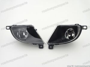 1Pair Bumper Driving Fog Light Lamps Left & Right for BMW 5SERIES E60 2008-2010