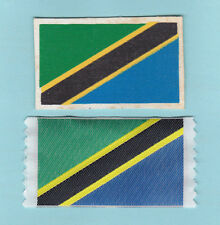 SCOUTS OF TANZANIA / TANZANIAN - OFFICIAL SCOUT NATIONAL FLAG Patch (2 VAR.)
