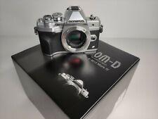Olympus OM-D E-M10 Mark IV Mirrorless Digital Camera Body Silver V207130SU000