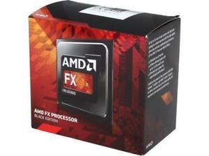 "AMD FX 8320 Black Edition""Vishera"" CPU (8 Core, AM3+, Clock 3.5 - 4.0 GHz"