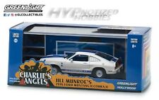 GREENLIGHT 1:43 CHARLIE'S ANGELS 1976 FORD MUSTANG II COBRA DIE-CAST WHITE 86516