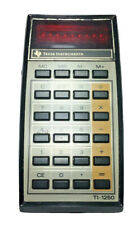 Vintage Texas Instruments Ti-1250 Electronic Calculator Red Led Display