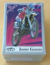 1991 Champs Marketing Hi Flyers Motocross Trading Card Set