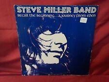 """Steve Miller Band Orginal 1972 """" Recall The Beginning A Journey From Eden """" Lp"""
