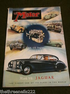 MOTOR MAGAZINE - MAY 23 1951 - FORD CONSUL
