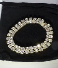 Diamante Silver Tone Bracelet