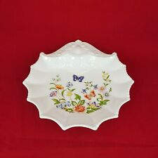 More details for aynsley cottage garden large shell shaped trinket dish 5220 ay
