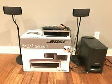 Bose 3·2·1 Gs Series Ii Home Theater System - Includes all parts & original box
