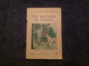 The Settlers in Canada - A story from Captain Marryatt Whitcombe's Book vintage