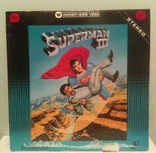 Superman III, Laserdisc