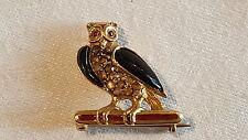 Theodor Fahrner 15 ct gold vintage Art Nouveau Secessionist antique owl brooch