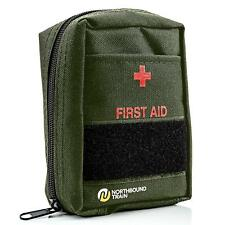 Tactical First Aid Kit Survival Military Medical Trauma Travel Camping Hiking