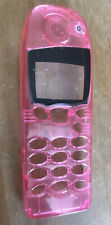 REPLACEMENT FRONT FASCIA HOUSING COVER - NOKIA 5110 5130 5146 - CLEAR PINK