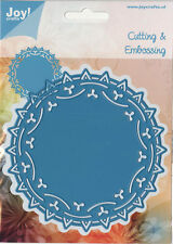 "JOY CRAFTS DIES - 60031003 -  ""ROUND DOILY 3""  FOR CARDS OR SCRAPBOOK PAGES"