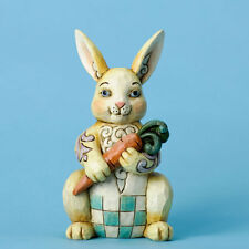 Jim Shore Pint Sized Easter Bunny w/Carrot Figurine ~ 4031211