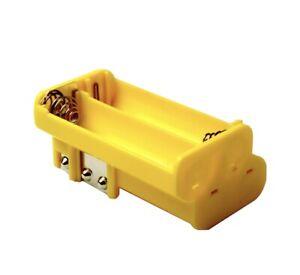 Radio Shack OEM Yellow Battery Holder Pro 79 82 93 95 96 97 106 164 404 649 651