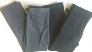 Mens Size 29,32,34,36 Khaki Pants BLACK GRAY Dockers APT.9  Casual Dress Pants