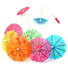 15 papel cóctel paraguas sombrillas// Accesorio/Colores Mezclados Bebidas