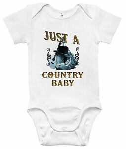 Baby Bodysuit - Just a Country Baby Baby Clothes for Infant Boys and Girls