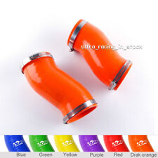 ZAP Orange For 04-08 LAMBORGHINI GALLARDO Air Intake Smooth Tubes Silicone Hoses