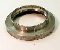 """Kodak series 6 VI Adapter 1 5/16""""  slip on  to 44.5 mm  Filter Ring"""