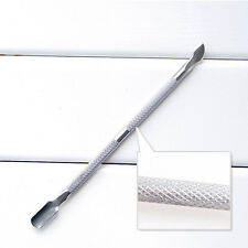 Curette Cuticle Pusher Remover Nail Cleaner Manicure Pedicure Tools Kit CA