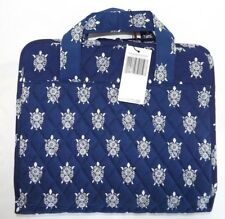 Vera Bradley New Hanging Organizer Cosmetic Case - Sea Turtles Navy New With Tag