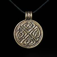 Celtic Knot Pendant, Celtic Knot, brass, handmade