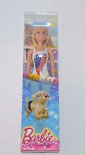 BARBIE USA Beach Swim Doll DRD57