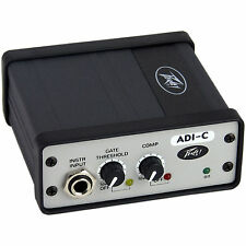 Peavey ADI-C Active Direct Box with Compressor and Gate - Bass Guitar DI Box