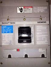 1 SIEMENS JXD6 JXD6-A JXD63B400 CIRCUIT BREAKER 400A 600V 3P 400 AMP 600 VAC