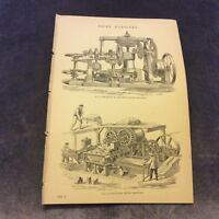 Book Print - Brick Machines - 1880