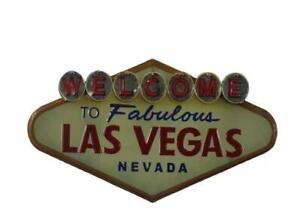 Retro Vintage Metal Wall Decor Welcome To Las Vegas Cafe Pub Bar Man Cave Store
