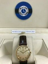 Gents 9ct Gold Omega Watch (212)