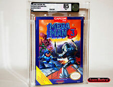 Mega Man 3 CAPCOM Nintendo NES Brand New Factory Sealed VGA 85 Mint SNES